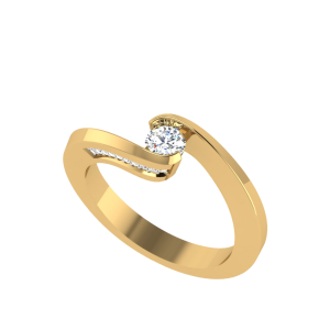 The Bright Side Diamond Solitaire Ring