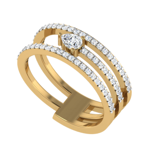 The Secret Of Love Style Diamond Ring