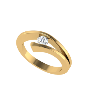 The Pretty One Solitaire Diamond Ring