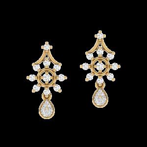 Gift Galore Diamond Stud Earrings