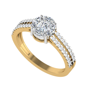 The Blessed Nest Diamond Ring