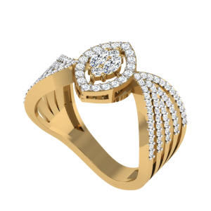 The Vivacious Cocktail Diamond Ring