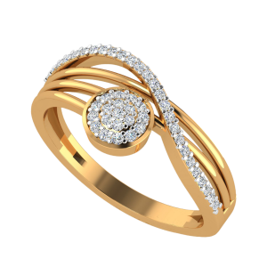 The Roundabout Swing Diamond Ring