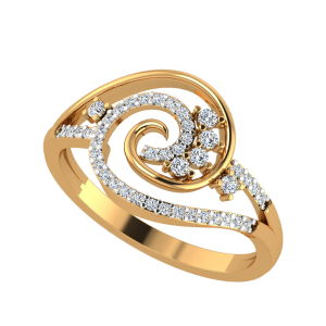 The Flaccid Sun Diamond Ring