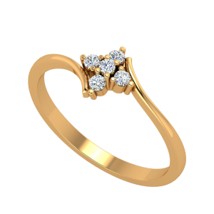 The Beflowers Diamond Ring
