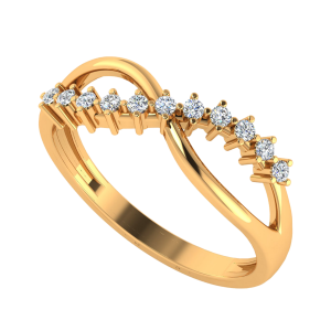 The Spindrift Diamond Ring