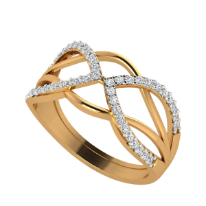 The Waveshapes Diamond Ring