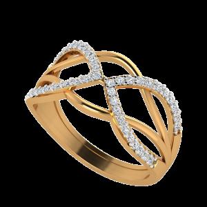 The Waveshapes Diamond Ring