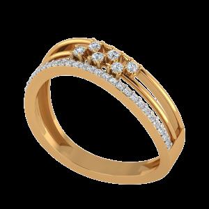The ZigZaggers Diamond Ring