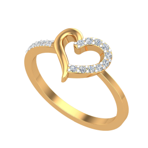 The Heartsomely Diamond Ring