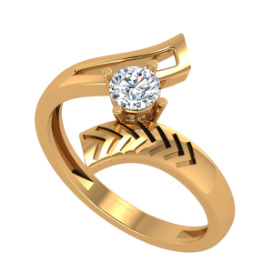 The Arrows Flight Diamond Ring