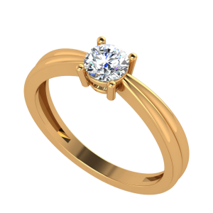 The Solitaire Song Diamond Ring
