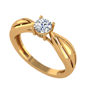 The Solitaire Bird Diamond Ring