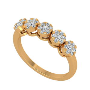 The Dance Floor Diamond Ring