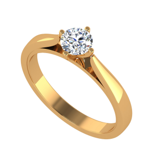 The Solitaire Cipher Diamond Ring