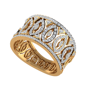 The Marquise Mansion Diamond Ring