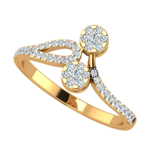 The Twin Berries Diamond Ring