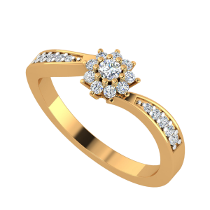The Floral Fleet Diamond Ring