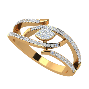 The Marquise Spell Diamond Ring