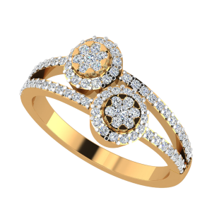 The Circle Unlock Diamond Ring