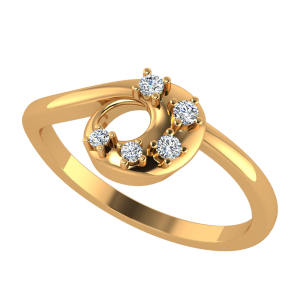 The Retro Fest Diamond Ring