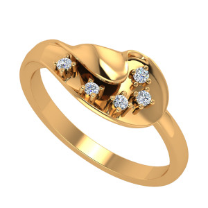 The Magical Turn Diamond Ring