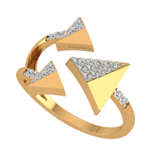 The Triangle Club Diamond Ring