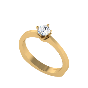 The Soul Game Solitaire Ring