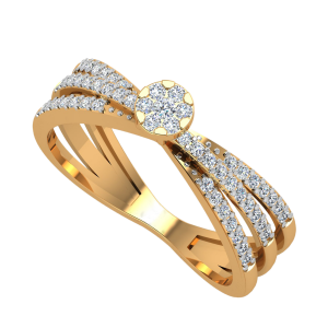The Merging Tales Diamond Ring