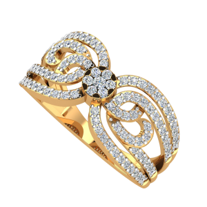 The Butterfly Glow Diamond Ring
