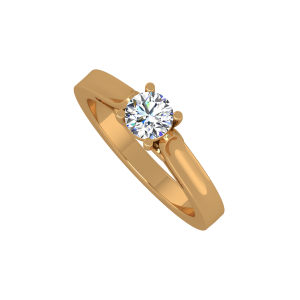 The Pride Solitaire Gold Diamond Ring