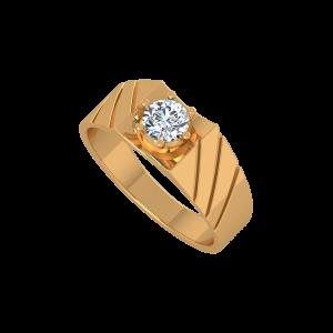 The Robust Men's Diamond Ring