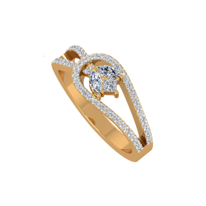 The Pure Treat Gold Diamond Ring