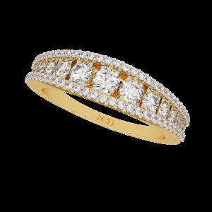 Dazzling Wishes Half Eternity Diamond Ring