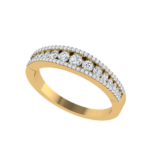 Dazzling Wishes Half Eternity Diamond Ring