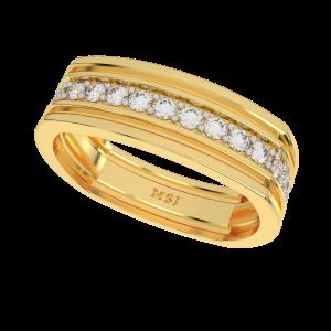 Imperial Sign Half Eternity Diamond Ring