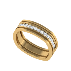 Imperial Sign Half Eternity Diamond Ring