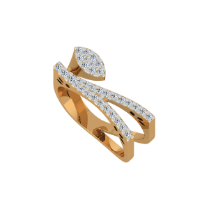 Show N Swag Gold Diamond Ring