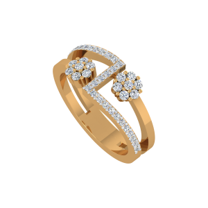The Floral Way Diamond Ring