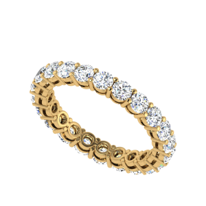 The Prodigious Eternity Diamond Band Ring