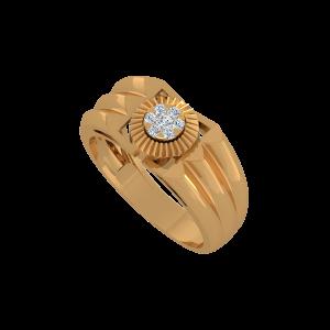 The Phoenix Gold Diamond Ring