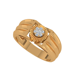 The Golden Aura Diamond Ring