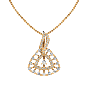 The Geometric Leisure Diamond Pendant