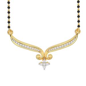 The Traditional Crease Mangalsutra