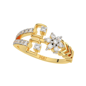 The Hangover Gold Diamond Ring