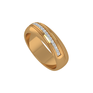 The Glitter Array Gold Diamond Ring