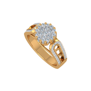 The Flimflam Gold Diamond Ring