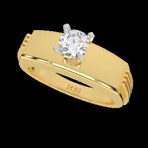 The Brilliant Gem Gold Diamond Ring