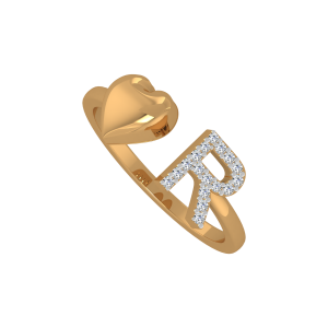 The Cheer R Gold Diamond Ring