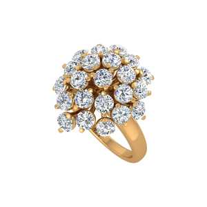The Cosmos Gold Diamond Ring